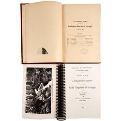 Gold Deposits of Georgia, 2 Volumes