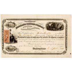 Maryland Copper Company Stock