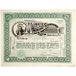 Mohawk Mining Company Stock Certificate