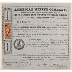 American Mining Co. Stock