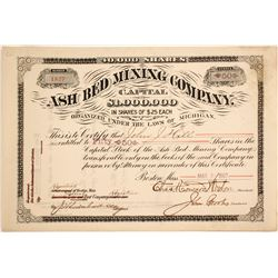 Ash Bed Mining Stock