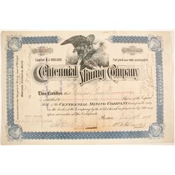 Centennial Mining Co. Stock