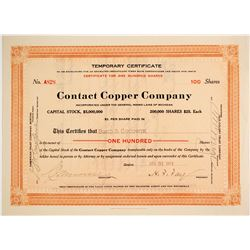 Contact Copper Co. Stock