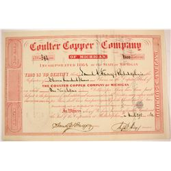 Coulter Cooper Co. of Michigan Stock