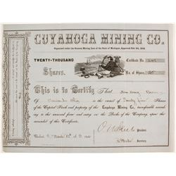 Cuyahoga Mining Co. Stock