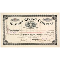 Meadow Mining Co. Stock