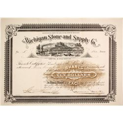 Michigan Stone and Supply Stock