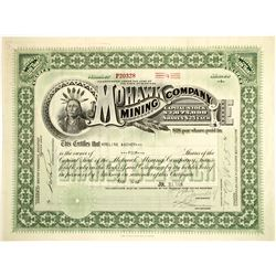 Mohawk Mining Co. Stock