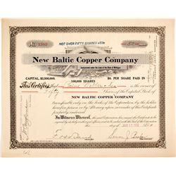New Baltic Copper Stock