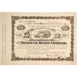 Nonesuch Mining Co. Stock