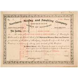 Northern Mining and Smelting Stock
