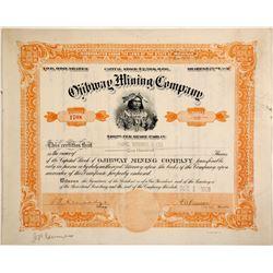 Ojibway Mining Stock