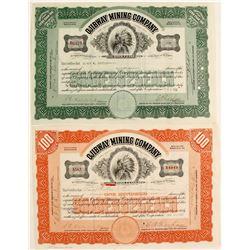 Ojibway Mining Stocks, 2 Different