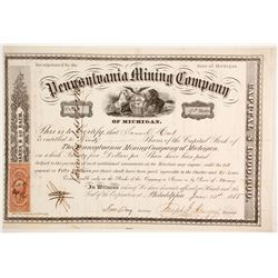 Pennsylvania Mining Co. of Michigan Stock