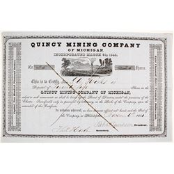 Quincy Mining Co. Stock