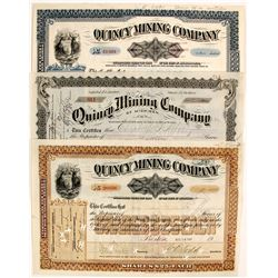 Quincy Mining Co. Stocks (3)