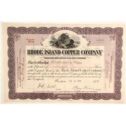 Rhode Island Copper Stock