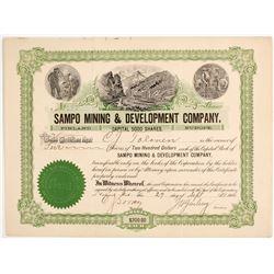Sampo Mining & Development Stock