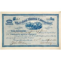 Wheeling Mining Co. Stock