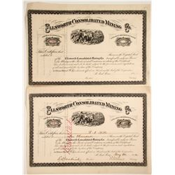 Ellsworth Con. Mining Stocks (2)