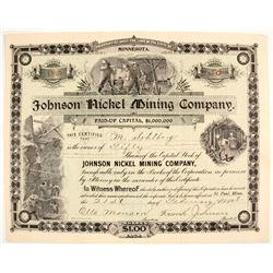 Johnson Nickel Mining Stock