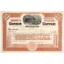 Corbin Copper Co. Stock