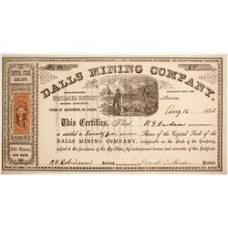 Dalls Mining Company Stock