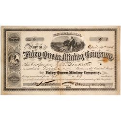 Fairy Queen Mining Company Stock