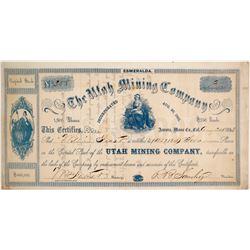Utah Mining Company Stock