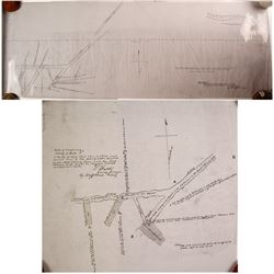 Rare Aurora Mining Maps (Reprints from the Nevada State Archives), (2)