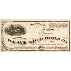 Voltaire Silver Mining Company Stock