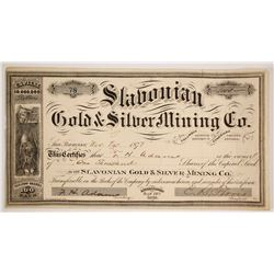 Slavonian Gold & Silver Mining Company Stock