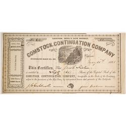 Comstock Continuation Company Stock