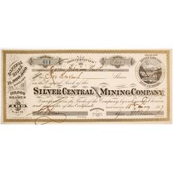 Silver Central Consolidated Mining Company Stock