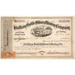 Bullion Gold & Silver Mining Company Stock