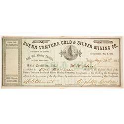 Buena Ventura Gold & Silver Mining Company Stock