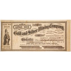 GonGo Soco Gold and Silver Mining Company Stock - NUMBER 1