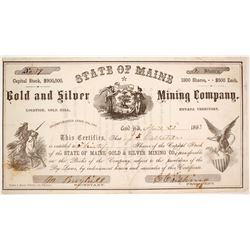 State of Maine Gold & Silver Mining Company Stock