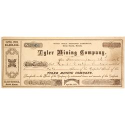 Tyler Mining Company Stock