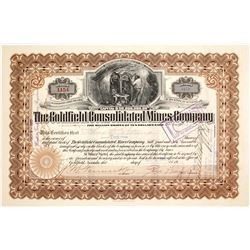 Goldfield Consolidated Mines Signed by Geo. Wingfield