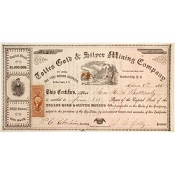 Tolles Gold & Silver Mining Company Stock