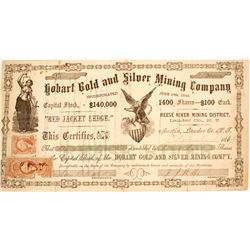 Hobart Gold & Silver Mining Company Stock