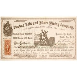 Phoebus Gold & Silver Mining Company Stock