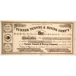 Turner Tunnel & Mining Company Stock