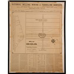 National Mill & Mining Company Large Map