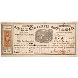 Bed Rock Gold & Silver Mining Company Stock