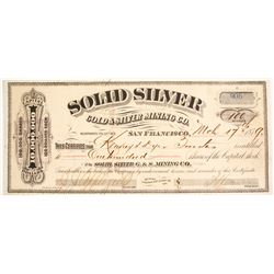 Solid Silver Gold & Silver Mining Company Stock