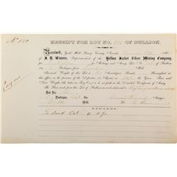 Conrad Wiegand  / Yellow Jacket Mine / Eureka Mill Assay Report