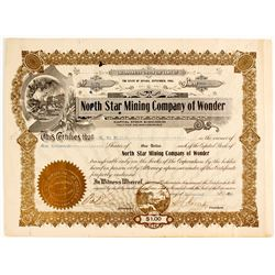 North Star Mining Company of Wonder Stock
