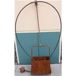 High Grade Ore Tram Bucket with Cable